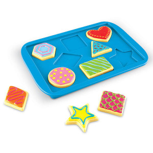 Learning Resources Smart Snacks Shape Matching Cookies