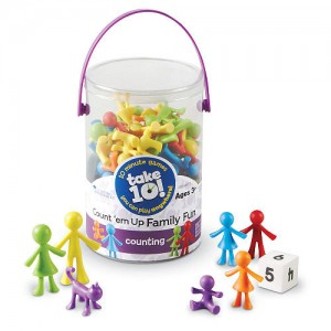 Learning Resources Take10 Count Em Up Family Fun Counters