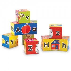Learning Resources Learning Essentials Alphabet Puzzle Blocks