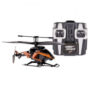 Air Hogs Axis 400X Remote Control Helicopter- Black & Orange