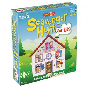 Briarpatch Scavenger Hunt for Kids Amazing Indoor Search Board Game