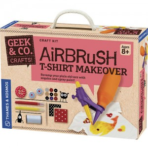 Thames & Kosmos Airbrush T-Shirt Makeover Crafts Kit