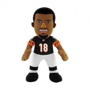 NFL Player 10 Inch Plush Figure Cincinnati Bengals A.J. Green
