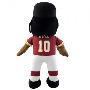NFL Player 10 inch Plush Doll Washington Redskins Robert Griffin III
