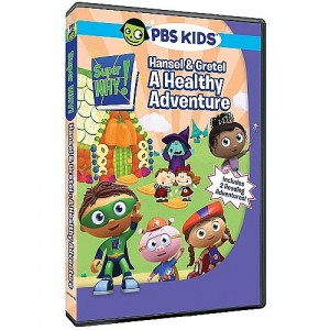 Super Why!: Hansel and Gretel A Healthy Adventure DVD