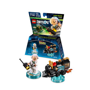 LEGO Dimensions, Back to the Future Doc Brown Fun Pack