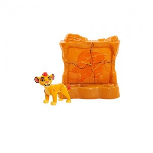 Disney Junior The Lion Guard Kion's Toppling Rock Wall Figure and Accessory Set