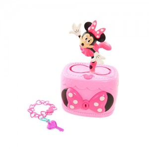 Disney Junior Minnie Bow-Tique Musical Jewelry Box