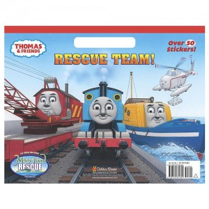 Thomas & Friends Rescue Team! Coloring Book