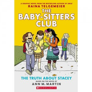Scholastic The Baby-Sitters Club The Truth About Stacey Story Book