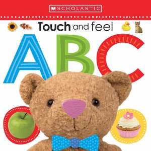 Scholastic Early Learners Book - Touch and Feel ABC
