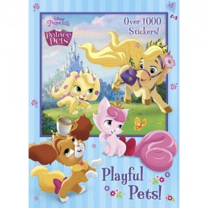 Disney Princess: Playful Pets! Coloring Book - Over 1000 Stickers