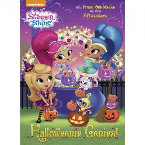 Nickelodeon Shimmer and Shine: Halloweenie Genies! Coloring and Activity Book