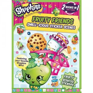 Shopkins Fruity Friends/Strawberry Kiss (Flip Book)