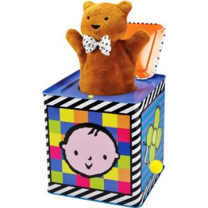 Kids Preferred - Amazing Baby Jack-in-the-Box