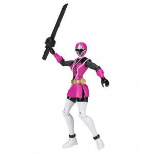 Power Rangers Ninja Steel 5 inch Hero Action Figure - Pink Ranger