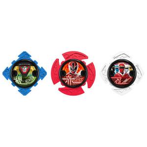 Power Rangers Ninja Steel - Ninja Star Power Pack (Red/White/Blue)