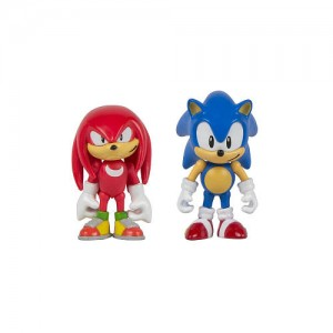 Sonic 25th Anniversary 3 inch Action Figure with Comic Book - Sonic and Tails
