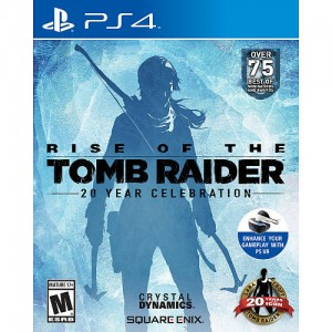 Rise of the Tomb Raider: 20 Year Celebration for Sony PS4