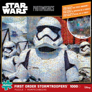 Star Wars 1000 Piece Photomosaics Puzzle - STORM TROOPERS - all images from Star Wars Episode VII