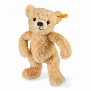 Steiff 11 inch Little Stuffed Kim Teddy Bear - Brown
