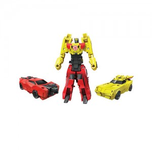 Transformers Robots in Disguise: Combiner Force 3.5 inch Action Figure - Crash Combiner Bumblebee and Sideswipe