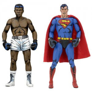 NECA DC Comics 7 2 Pack inch Scale Action Figure - Superman vs Muhammad Ali