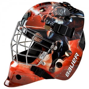 Star Wars: Episode VII The Force Awakens Youth Street Hockey Goal Mask - Darth Vader