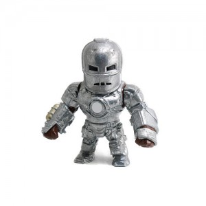 Marvel 4 inch Metal Diecast Action Figure - Iron Man MK1