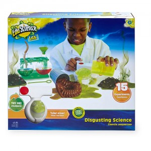 Edu Science 15 Experiment Disgusting Science Kit