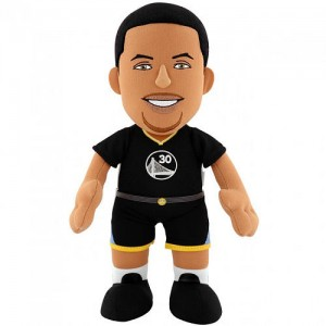 Golden State Warriors Steph Curry Slate Jersey 10 inch Plush Figure - Black Jersey