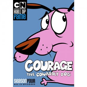 Courage: The Cowardly Dog Season 4 DVD