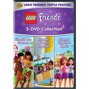 Lego Friends Triple Feature DVD