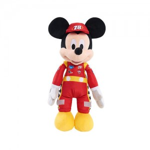 Disney Junior Mickey and the Roadster Racers Musical Stuffed Mickey - Tan