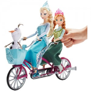 Disney Frozen Anna and Elsa's Musical Bicycle