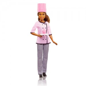 Barbie Cupcake Chef Fashion Doll - African American