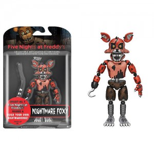 Funko Five Nights at Freddy's 5 inch Collectible Articulated Action Figure - Nightmare Foxy