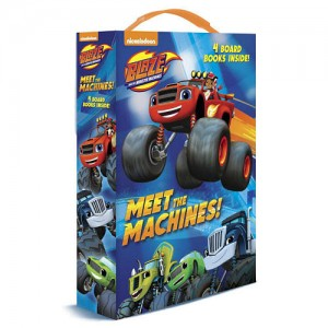 Blaze and the Monster Machines: Meet the Machines! 4 Board Books