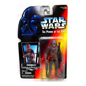 star wars Chewbacca Red Card Action Figure
