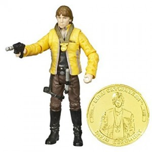 Hasbro Star Wars 30th Anniversary LUKE SKYWALKER CEREMONIAL Action Figure with Coin #12