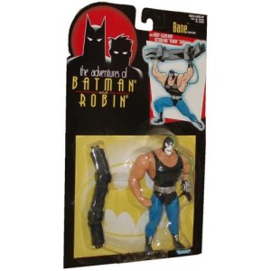 """DC Comics Animated Adventures of Batman and Robin BANE 5"""" Action Figure (1995 Kenner)"""