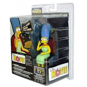 Official McFarlane The Simpsons Movie Marge Movie Mayhem Figure