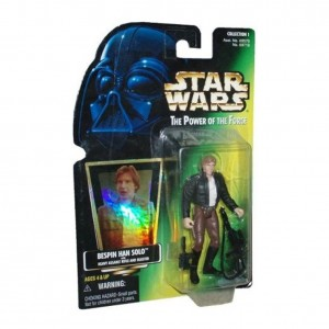 Star Wars, The Power of the Force, Bespin Han Solo Action Figure, 3.75 Inches