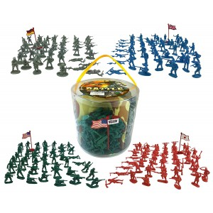 Liberty Imports Action figures 200 Pieces Army Men Toy Soldiers (World War 2)