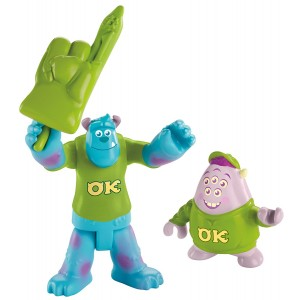 Fisher-Price Imaginext Disney Pixar Monsters University Sulley and Squishy