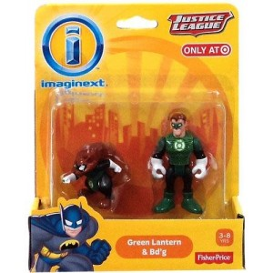 Imaginext, DC Comics Justice League, Green Lantern and Bd'g Figures