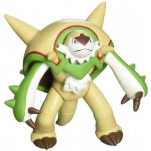 "Takara Tomy Takaratomy Official Pokemon X and Y SP 07 2.5"" Chesnaught Action Figure"