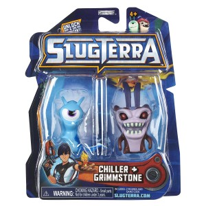Slugterra Series 2 Chiller and Grimmstone Mini Figure 2-Pack by Animewild [Toy]