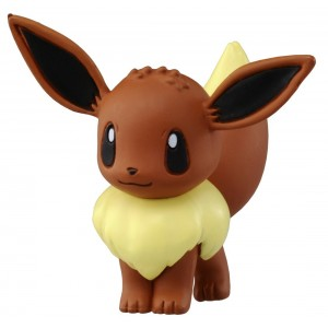 "Takara Tomy Takaratomy Official Pokemon X and Y MC-029 2"" Eevee Action Figure"