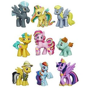 My Little Pony Friendship Is Magic Minis Set of 9 - Daring Pony Story, Ponyville Newsmaker and Soaring Pegasus